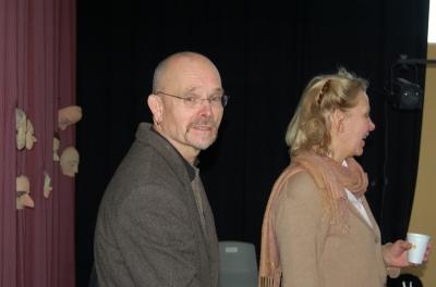 Bent Holm og Kirsten Olesen. Foto: Bjørn Andersen