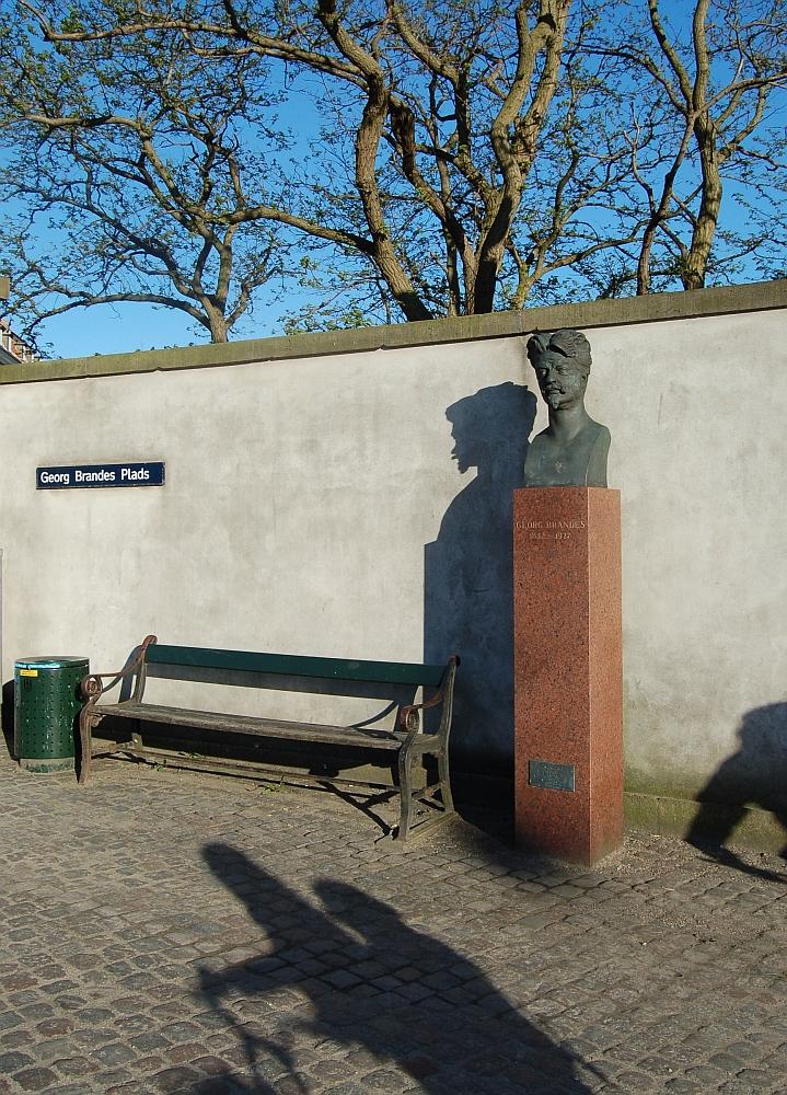 Max Klinger's Brandes-buste Kbh. Foto: BA